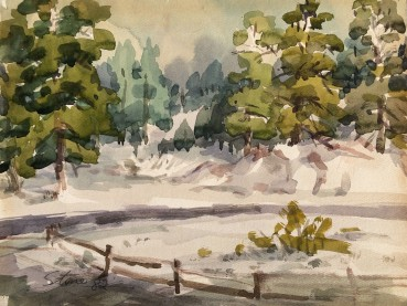 1982-1 14x10 Water Color